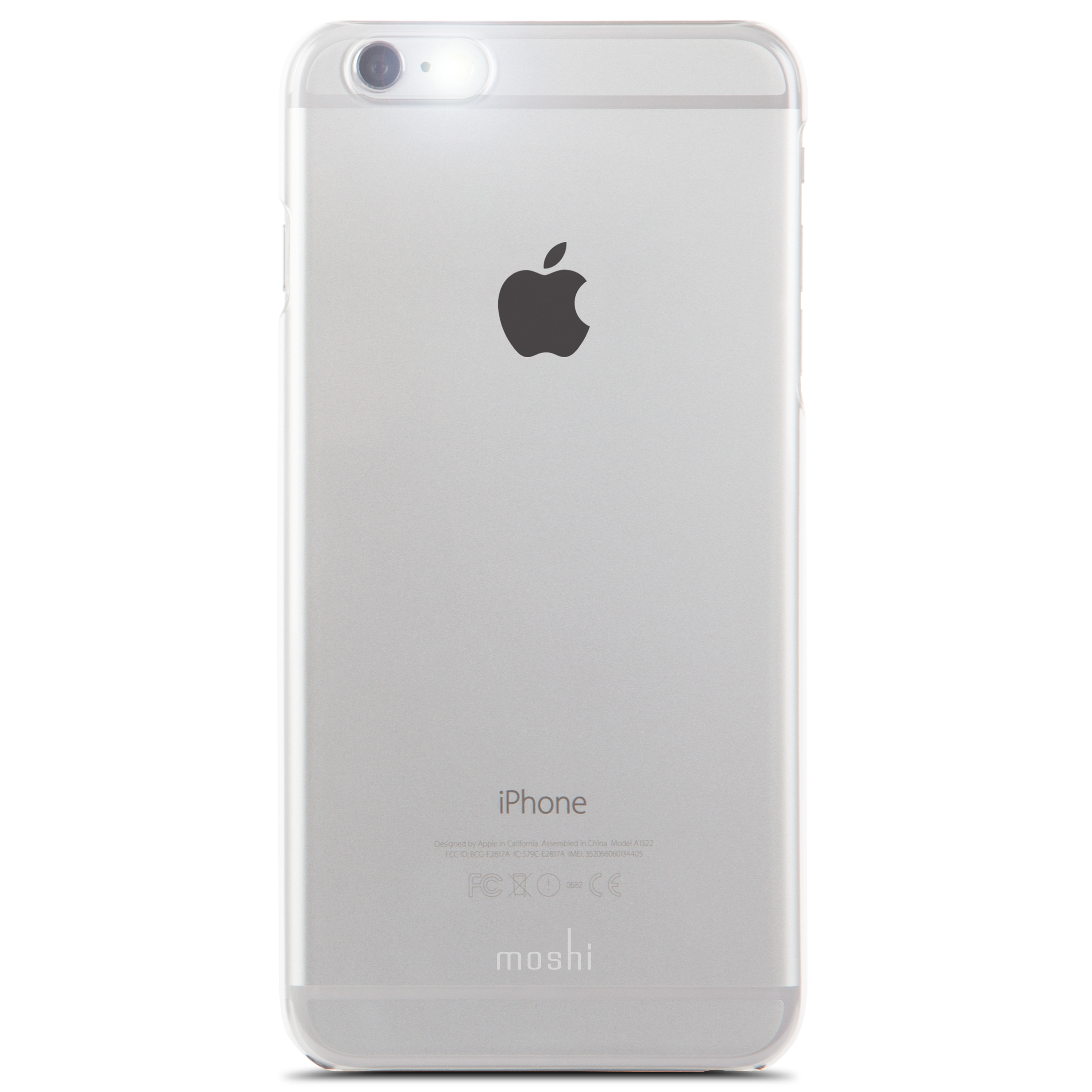 silver iphone 6 plus moshi 16130